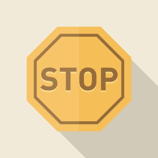 stop標識