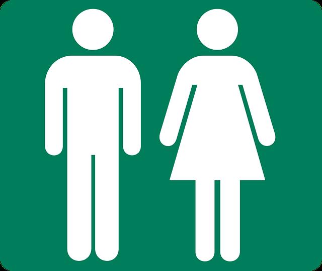 トイレの男女マーク