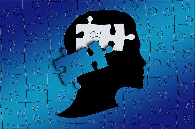 人の影とジグソーパズル