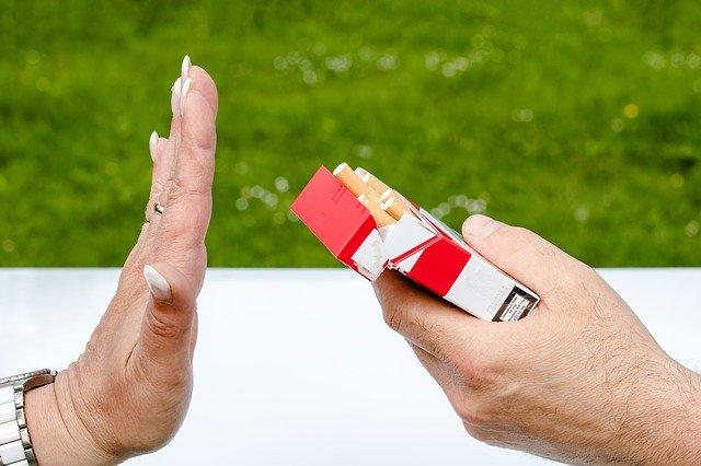 タバコの拒否