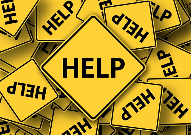 HELP標識